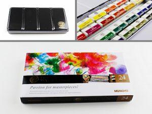 """Akvarelové barvy """"Mungyo"""""""