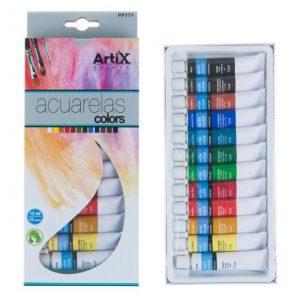 Artix akvarelové barvy